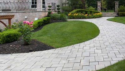 Pittsburgh retaining wall construction hardscape design, paver patios, paver sidewalks,