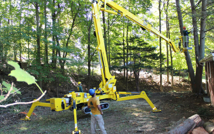 Forestry Lift - Bucket Truck Spider Lift