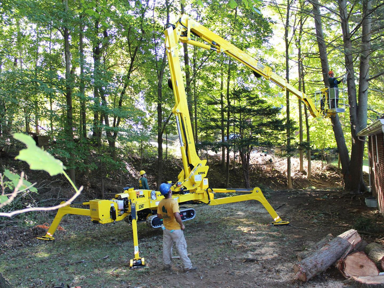 Forestry Lift - Bucket Truck Spider Lift
