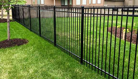 Wrought Iron Fence Installation Metal Iron Fencing Installation