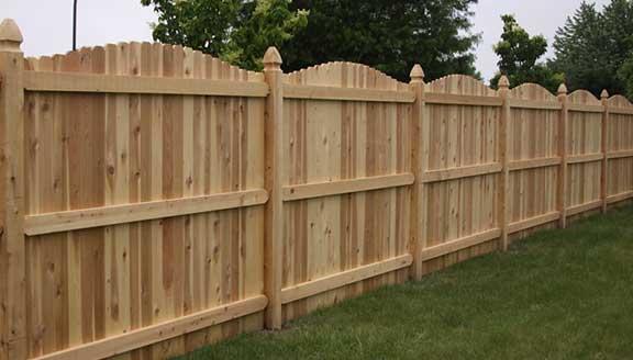 Wooden Cedar Fence Installation Cedar Fencing Installer