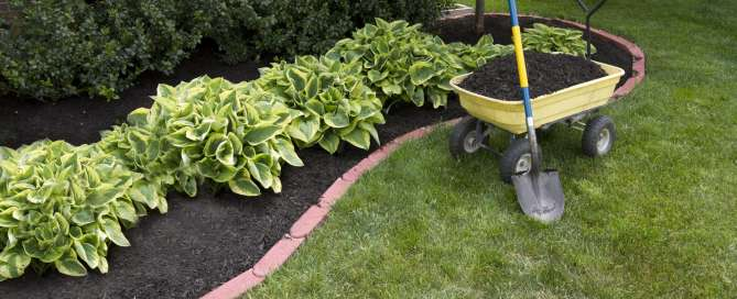 Landscaping Mulch Installation & Flower Beds